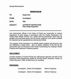 Memo Style Letter Sample Casual Memo Letter 8 Examples Format
