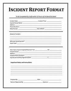 High Point Incident Report Incident Report Form Template Microsoft Word With Images