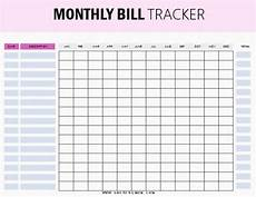 Bill Tracker 10 1 Free Bill Tracker Printables Be On Top Of Your