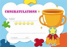 Free Certificate Template For Kids Free Printable Certificate Template For Kids بالعربي نتعلم