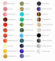 Cathedral Stone Color Chart Gemstone Color Chart All Gemstones Are Either Natural