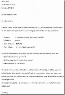 Pre Approval Letter Sample Approval Letter Templates 10 Samples Examples Amp Formats