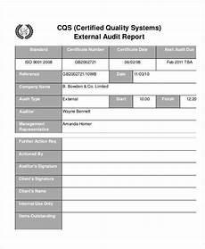Audit Report Template 13 Quality Audit Report Templates Google Docs Word