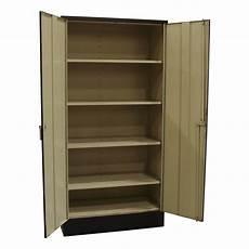 used 72 inch storage cabinet black national