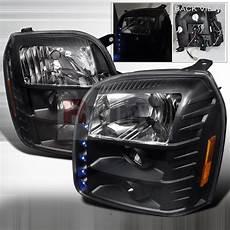 Gmc Terrain Aftermarket Lights Spec D Tuning 174 Gmc Sierra 2007 2010 Led Halo Black