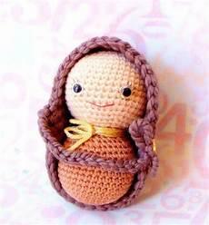 big peanut baby amigurumi pattern crochet doll tutorial