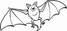 bats flying coloring page color