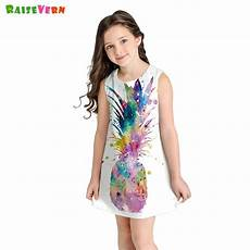 pineapple clothes yr pineapple print dress summer sleeveless a line