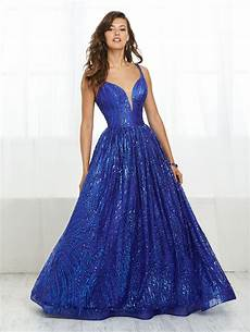 Dress Design Features Tiffany Designs Style 16413 This Deep V Neckline Dress