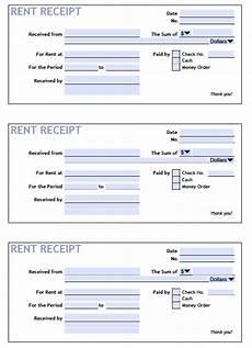 Reciept Templet Download Printable Rent Receipt Templates Pdf Word