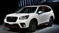 2019 Subaru Forester Design by 2019 Subaru Forester Unveiled