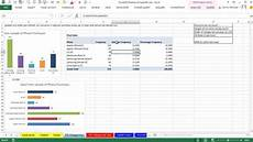 Chart For Distribution Excel 2013 Statistical Analysis 06 Frequency