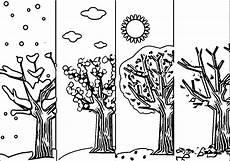 4 seasons coloring page wecoloringpage 5 k 233 zimunka rajz