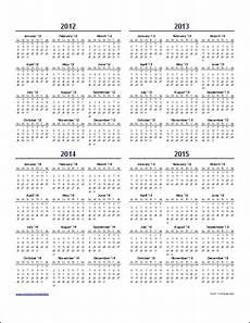 Multi Year Calendar Download Free Calendar Templates For 2013