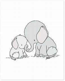 Malvorlagen Baby Elefant Elephant Nursery Elephant And Baby You Are