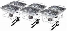 party food warmer serving pans buffet tray disposable