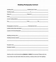 Free Wedding Contract Template Free 25 Sample Wedding Contracts In Google Docs Ms Word