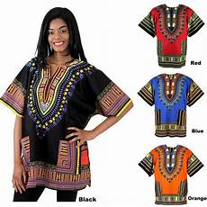 Dashiki Tops Designs Womens Plus Size Dashiki Print Short Sleeve Summer Casual