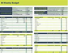 Weekly Budget Excel Template 26 Free Bi Weekly Budget Templates Ms Office Documents
