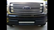 2015 F150 Light Bar Install How To Install F150 22 Quot 21 6 Quot Led Bar In The Lower