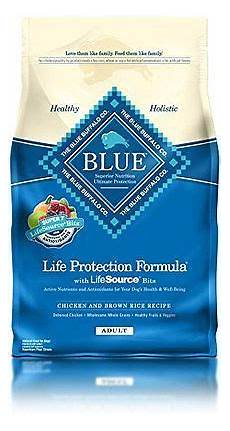 Blue Buffalo Feeding Chart Small Breed Blue Buffalo Blue Dog Chicken Amp Brown Rice 6 Lb