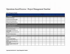 Project Management Timeline Example Project Management Timeline Word Templates At