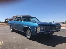 69 Chevy Impala Lights 1969 Chevrolet Impala For Sale Classiccars Com Cc 996160