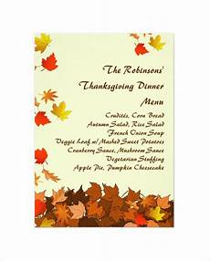 thanksgiving cards word template 25 thanksgiving menu templates free sle exle