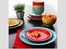 Colorful Dinnerware Set Kitchen Dinner Ware Service Multi