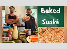 EASY BAKED SUSHI RECIPE   YouTube