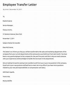 Transfer Letter Format From One Location To Another 12 Employee Transfer Letter Templates Pdf Doc Free