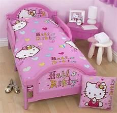 hello pink junior toddler cot bed duvet set quilt
