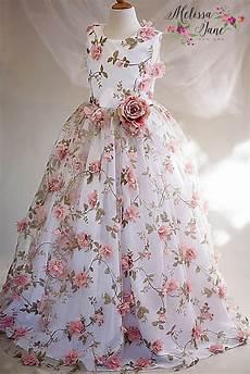 floral floating petal dress melissajane
