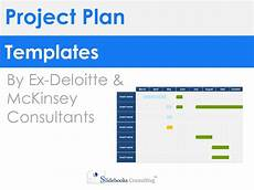 Powerpoint Project Plan Template Project Plan Templates In Powerpoint Amp Excel
