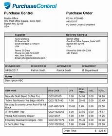 Purchase Order Invoices Purchase Order Vs Invoice Purchasecontrol