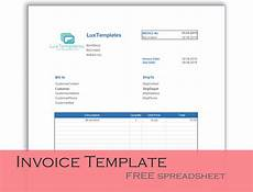Sample Invoice Template Excel Invoice Templates For Excel Luxtemplates Modern Design