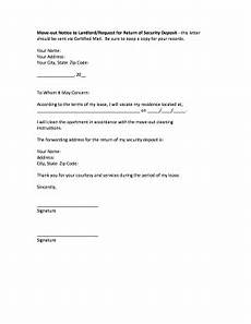 30 Day Notice To Move Out Letter How To Write A Letter To Landlord Moving Out Fill Online