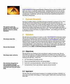 Scope Cleaning Services 12 Cleaning Proposal Examples In Pdf Google Docs