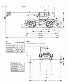 Grove 40 Ton Crane Load Chart Crane Load Charts Brochures And Specifications