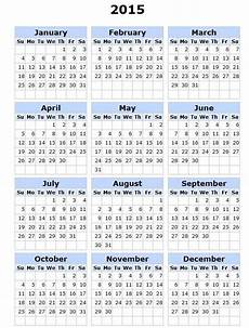 Month By Month Calendar 2015 Printable 2015 Calendar Calendars Pinterest 2015