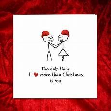 Romantic Christmas Cards Romantic Christmas Card Husband Love Heart Ebay