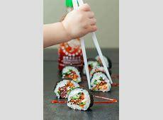 Homemade Bacon Avocado Sushi Rolls   Peas and Crayons