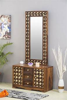 buy solid wood brass dressing table d new