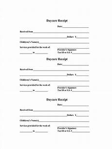 Receipt For The Payment Free 9 Daycare Receipt Examples Amp Samples In Pdf Doc