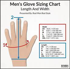 Rubber Glove Size Chart Winter Accessories Every Man Needs These 10 Things