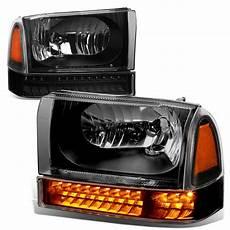 2006 F250 Led Lights 99 04 Ford F250 F350 Super Duty Headlight Bumper Led