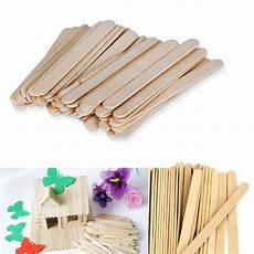 crafts popsicle stick 100 pcs wood popsicle sticks wooden craft sticks