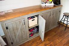 scrapped the sliding barn doors rustic cabinet doors