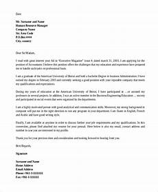 Example Generic Cover Letter Free 7 Generic Cover Letter Samples In Ms Word Pdf