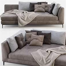 Armen Sofa 3d Image by Poliform Sofa Bellport 3d Model For Corona
